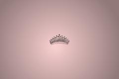 Wallpaper crown pink