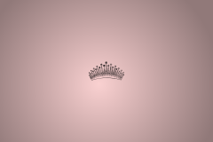 Wallpaper crown pink